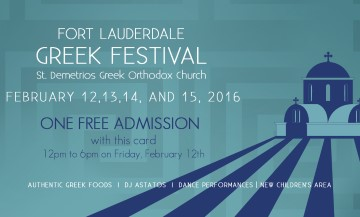history fort lauderdale greek festival. Black Bedroom Furniture Sets. Home Design Ideas
